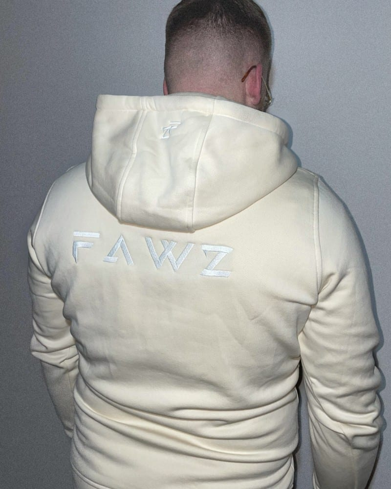 puissant hoodie two toned